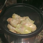 going in the slow cooker